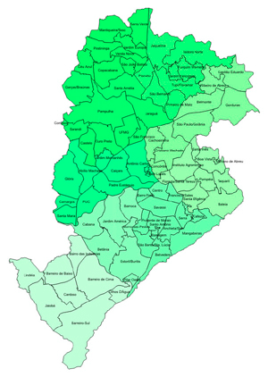 Mapa Belo Horizonte